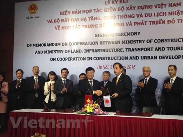 Viet Nam va Nhat Ban hop tac trong xay dung phat trien do thi hinh anh 1