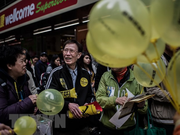 Hong Kong: Luong nguoi bieu tinh ung ho dan chu thap hon du kien hinh anh 1