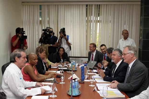 Cuba va EU hai long ve vong dam phan binh thuong hoa quan he hinh anh 1