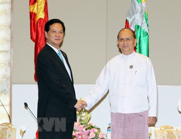 Viet Nam mong muon khong ngung phat trien quan he voi Myanmar hinh anh 1