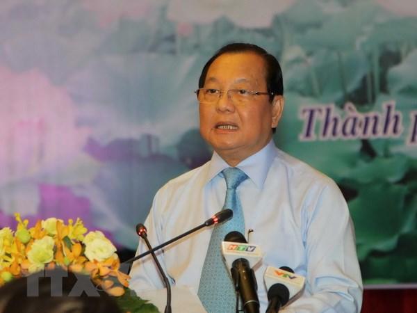 Thanh uy TP.HCM gioi thieu nhan su vao BCH Trung uong Dang hinh anh 1