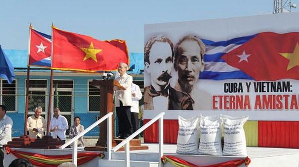 """Cuoc thi """"Viet Nam-Cuba doan ket cung phat trien"""" - Cau hoi tuan 1 hinh anh 1"""