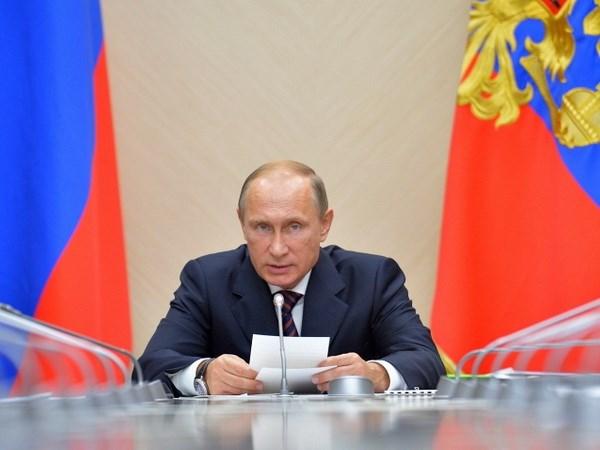 Tong thong Putin: To chuc IS tu lau da coi Nga la ke thu hinh anh 1