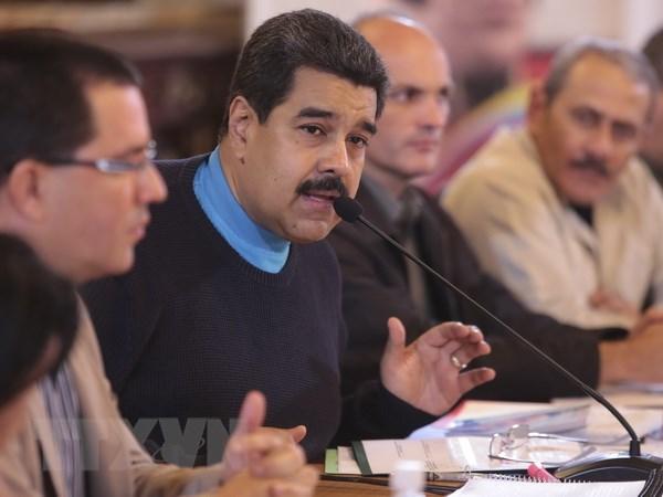 Tong thong Venezuela to cao am muu gay bat on cua Dai su quan My hinh anh 1