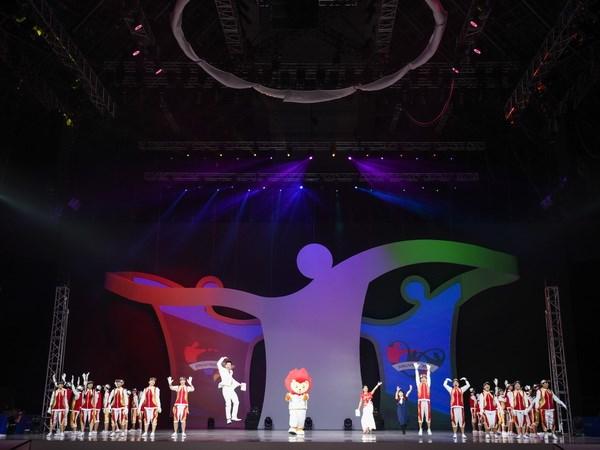 Tung bung le khai mac ASEAN Para Games lan thu 8 tai Singapore hinh anh 1