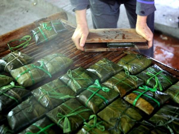 Banh phu the Dinh Bang - Dam da huong vi Tet co truyen hinh anh 3