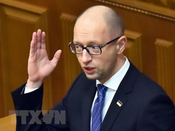 Tong thong Ukraine quyet dinh se cach chuc Thu tuong Yatsenyuk hinh anh 1