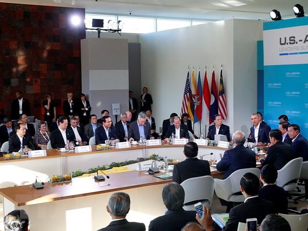 Chinh thuc khai mac Hoi nghi Cap cao dac biet ASEAN-Hoa Ky hinh anh 1