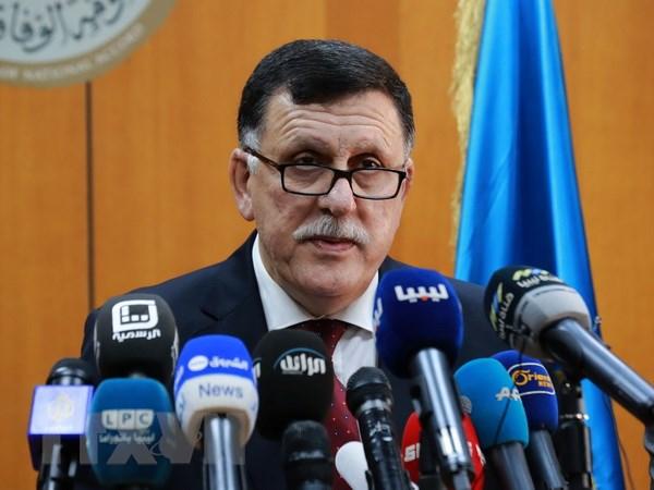 Libya: Cac tay sung tan cong dai truyen hinh o thu do Tripoli hinh anh 1