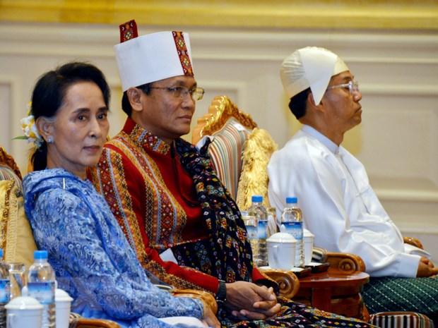 Co van Quoc gia Myanmar Aung San Suu Kyi phai phau thuat mat hinh anh 1