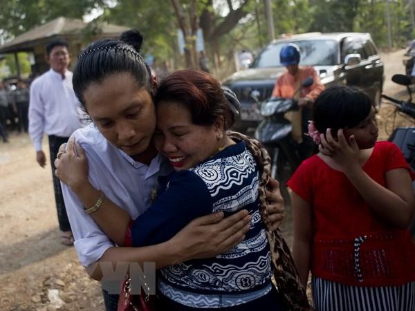 Chinh quyen Myanmar tiep tuc tra tu do cho 60 tu nhan chinh tri hinh anh 1