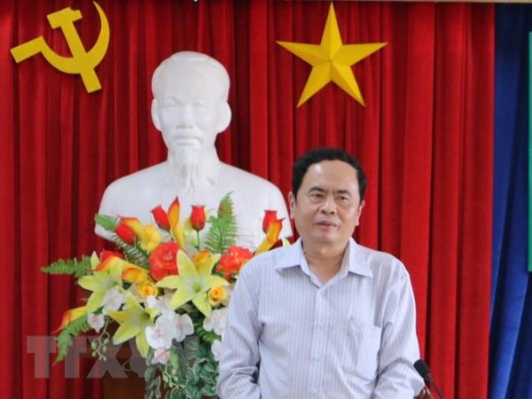 Ong Tran Thanh Man giu chuc Pho Chu tich Mat tran To quoc hinh anh 1