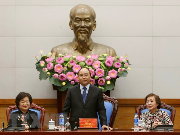 Thu tuong Nguyen Xuan Phuc tiep Ban Chu nhiem Quy Vu A Dinh hinh anh 1