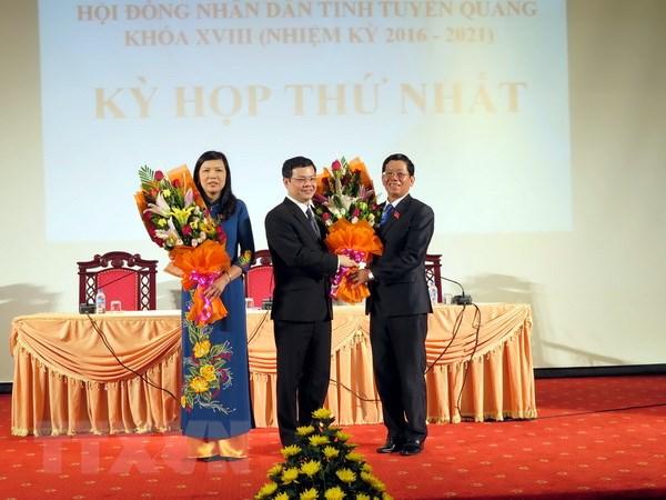 Ca Mau, Lai Chau, Tuyen Quang bau cac chuc danh lanh dao chu chot hinh anh 2