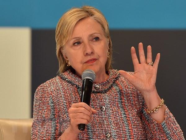 Bau cu My: Cuu Ngoai truong Clinton tiep tuc noi rong khoang cach hinh anh 1