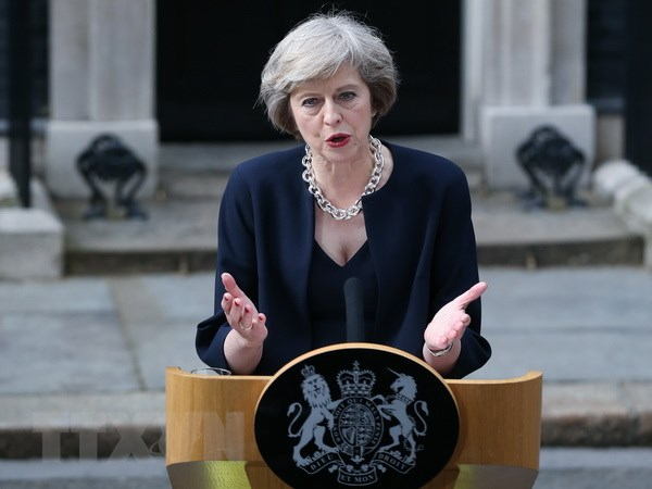 Doi net ve quan diem lanh dao cua tan Thu tuong Anh Theresa May hinh anh 1
