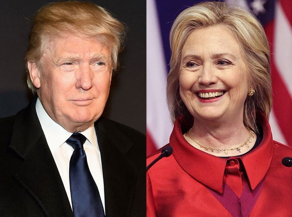 Tham do du luan: Ty phu Trump dan diem truoc ba Hillary Clinton hinh anh 1