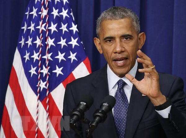 Ong Obama: Nga co the tim cach tac dong den cuoc bau cu My hinh anh 1