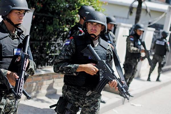 Honduras sa thai hang loat nhan vien an ninh cap cao hinh anh 1