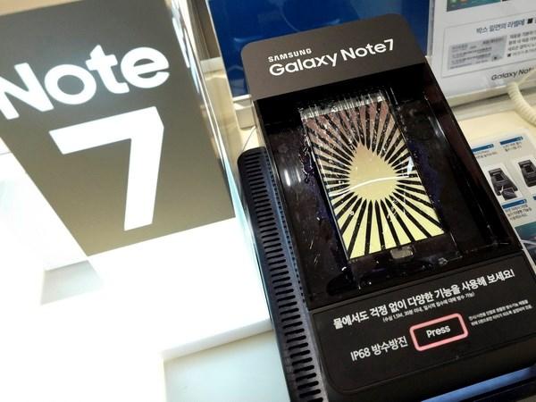Cuc Quan ly Canh tranh giam sat viec thu hoi dien thoai Galaxy Note 7 hinh anh 1