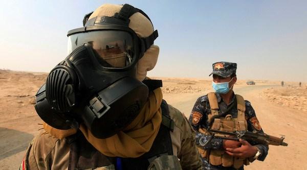 Iraq: Nhieu nguoi nhap vien do khoi doc gan thanh pho Mosul hinh anh 1