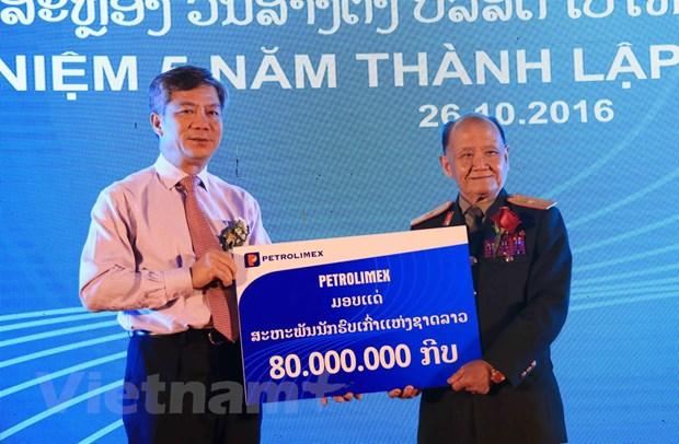 Petrolimex Lao - Diem sang trong hoat dong dau tu kinh doanh tai Lao hinh anh 3