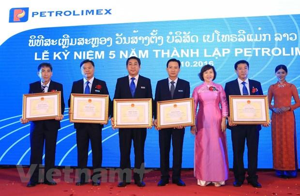 Petrolimex Lao - Diem sang trong hoat dong dau tu kinh doanh tai Lao hinh anh 1