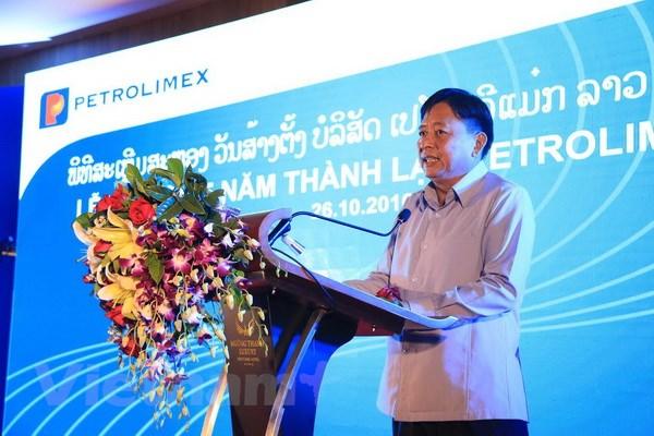 Petrolimex Lao - Diem sang trong hoat dong dau tu kinh doanh tai Lao hinh anh 2
