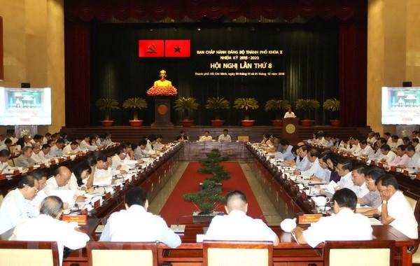 Khai mac Hoi nghi Thanh uy Thanh pho Ho Chi Minh lan thu 8 khoa X hinh anh 1