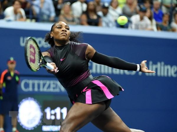 Tay vot cuu so 1 the gioi Serena Williams bat ngo dinh hon hinh anh 1