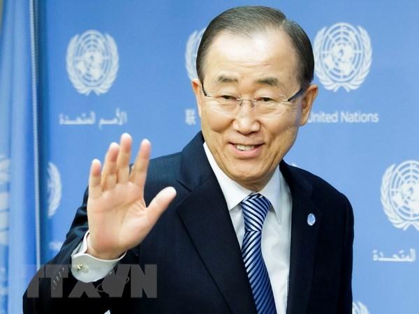 Tong thu ky Ban Ki-moon chao tu biet nhan vien Lien hop quoc hinh anh 1