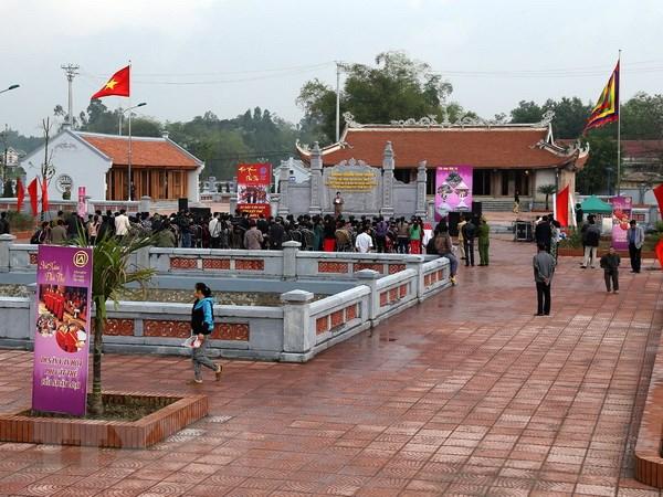 Le hoi Den Hung: Bao ton va phat huy gia tri di san Hat Xoan Phu Tho hinh anh 1