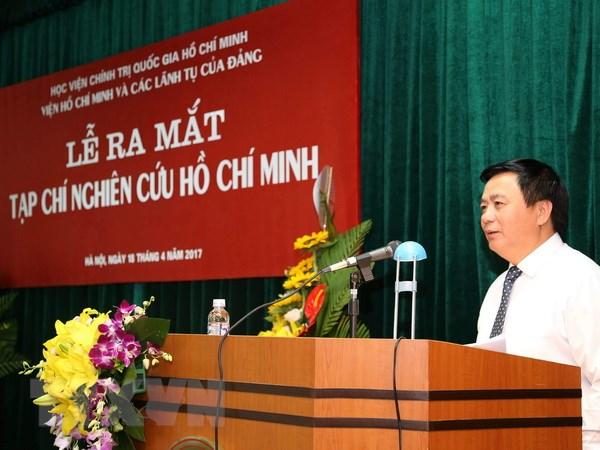 Ra mat Tap chi chuyen nghien cuu ve Chu tich Ho Chi Minh hinh anh 1