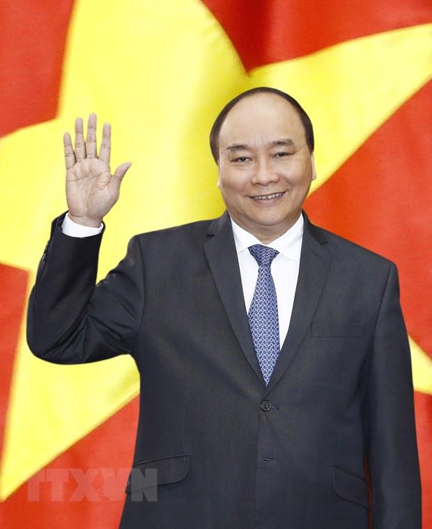 Thu tuong Nguyen Xuan Phuc len duong tham chinh thuc Nhat Ban hinh anh 1