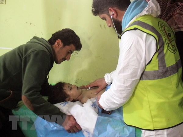Lau Nam Goc: Chinh phu Syria khong su dung vu khi hoa hoc tu thang 4 hinh anh 1