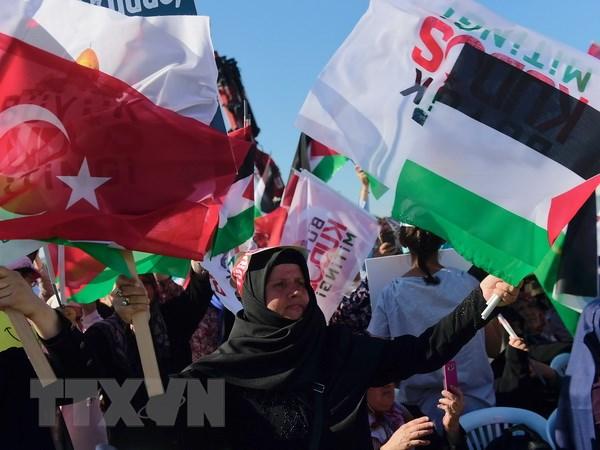 Tho Nhi Ky: Tuan hanh phan doi cac bien phap cua Israel o Al-Aqsa hinh anh 1