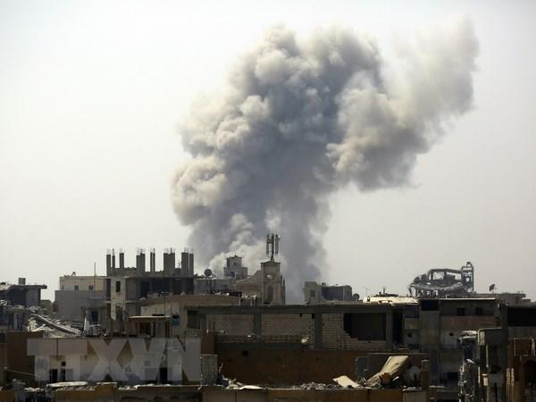 Nga tien hanh hon 2.500 cuoc khong kich tai Syria trong thang 8 hinh anh 1
