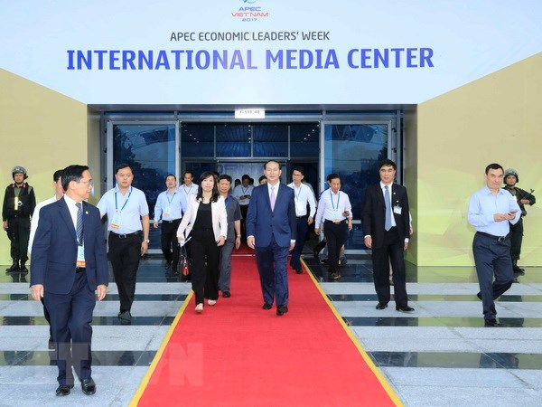 Thong cao bao chi ve Tuan le Cap cao APEC 2017 tai Da Nang hinh anh 1