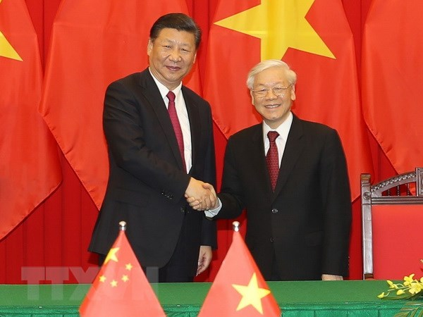 Toan van Tuyen bo chung giua hai nuoc Viet Nam-Trung Quoc hinh anh 1