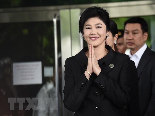 Thai Lan: Cuu dai ta canh sat giup ba Yingluck dao tau ''mat tich'' hinh anh 1