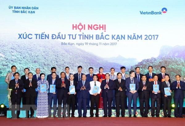 Thu tuong du Hoi nghi Xuc tien dau tu tinh Bac Kan nam 2017 hinh anh 3