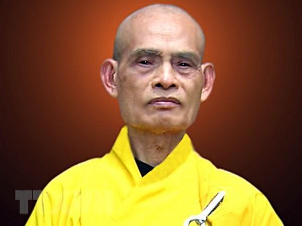 Hoa thuong Thich Pho Tue duoc tai suy ton Phap chu Giao hoi Phat giao hinh anh 2