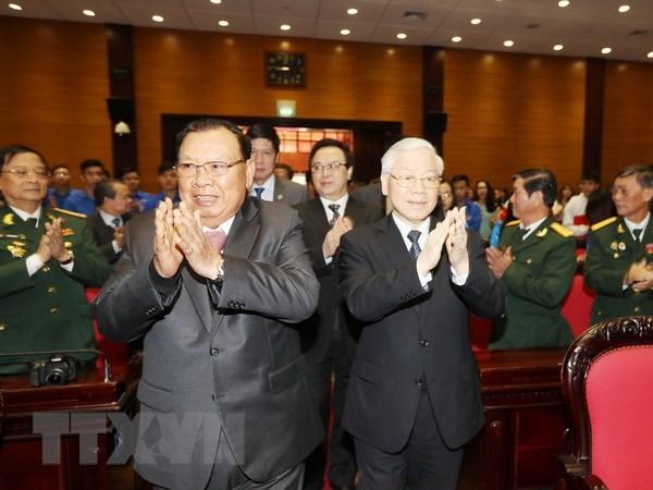 Tich cuc tuyen truyen ve nguon goc quan he Viet Nam-Lao den the he tre hinh anh 2