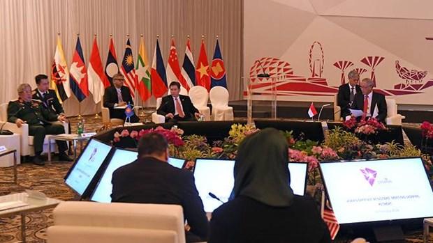 ASEAN va Trung Quoc se tien hanh tap tran chung trong nam 2018 hinh anh 1