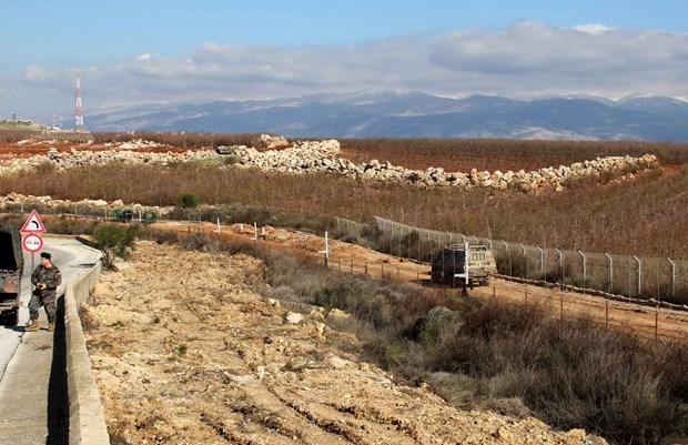 UNIFIL xac nhan Israel xay tuong doc bien gioi voi Liban hinh anh 1