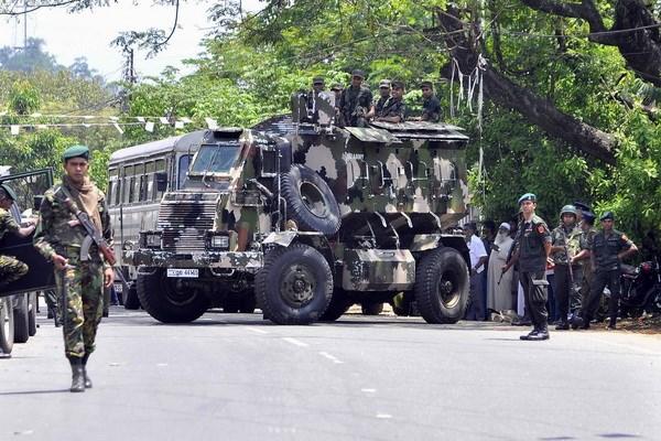Sri Lanka tuyen bo do bo tinh trang khan cap toan quoc hinh anh 1
