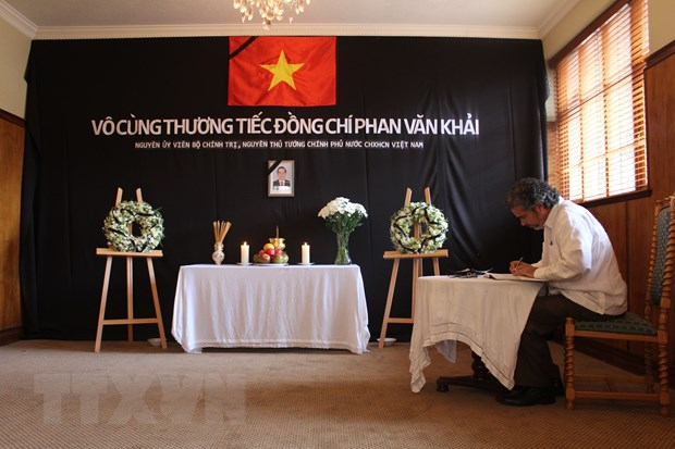 Le vieng nguyen Thu tuong Phan Van Khai tai mot so nuoc hinh anh 2