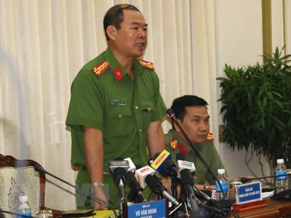 Thanh pho Ho Chi Minh: Se khoi to bi can vu chay tai chung cu Carina hinh anh 2