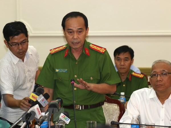 Thanh pho Ho Chi Minh: Se khoi to bi can vu chay tai chung cu Carina hinh anh 3