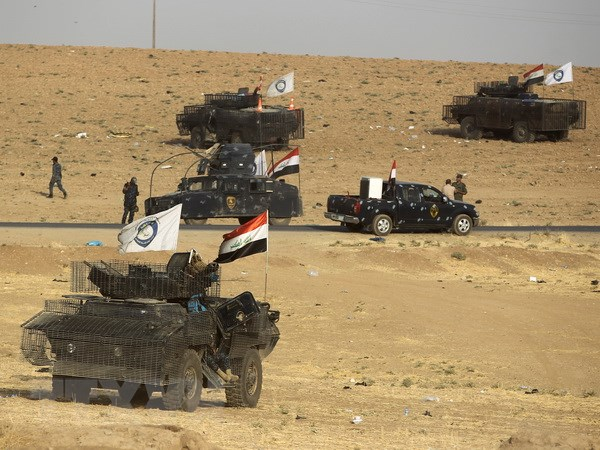 Quan doi Iraq mo chien dich chong tan quan IS tai Salahudin hinh anh 1